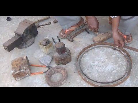 How to make slim cement concrete bonsai pot (with English subtitle)