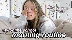 my 8am quarantine morning routine