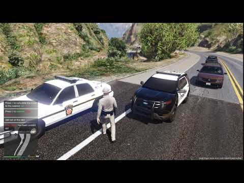 Gta 5 (LSPDFR) Pennsylvania State Police Crown Vic Patrol