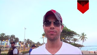 Enrique Iglesias - Bailando (English) Video - Behind the Scenes Powered by Atlantico