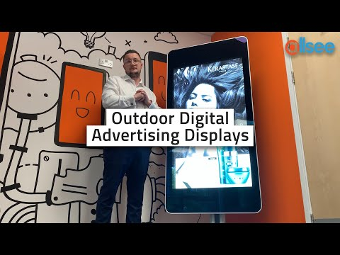 Outdoor Digital Advertising Displays