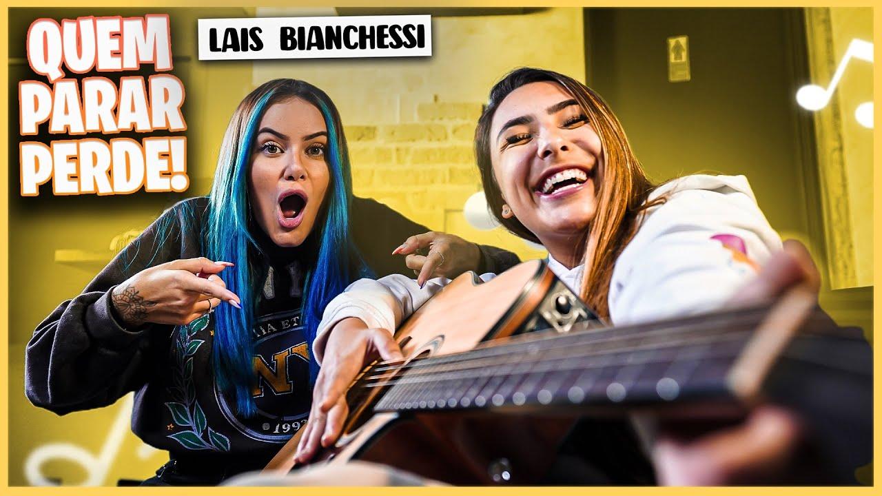 QUEM PARAR DE CANTAR PRIMEIRO PERDE! ft. Lais Bianchessi