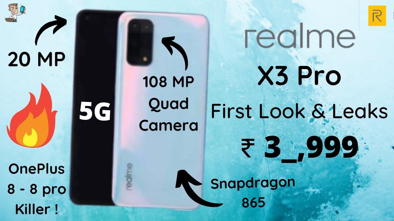 Realme X3 Pro First Look Leaks Realme X3 Series Realme
