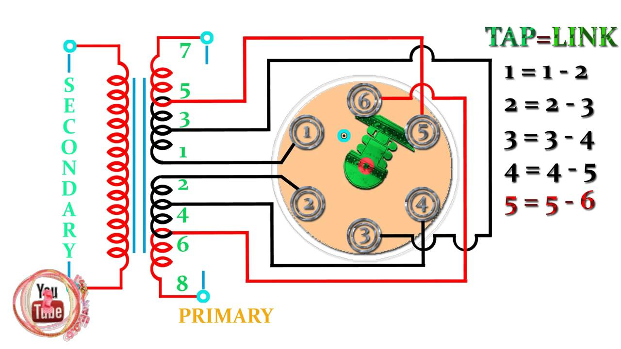 transformer tap changer,how to work tap changer electrical transformer tap changer theory at Transformer Taps Diagram