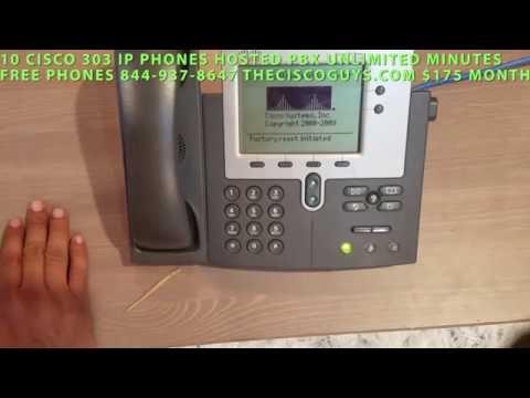 Reset and Setup Cisco 7940 7960 TFTP server Freepbx Elastix PBX in Flash
