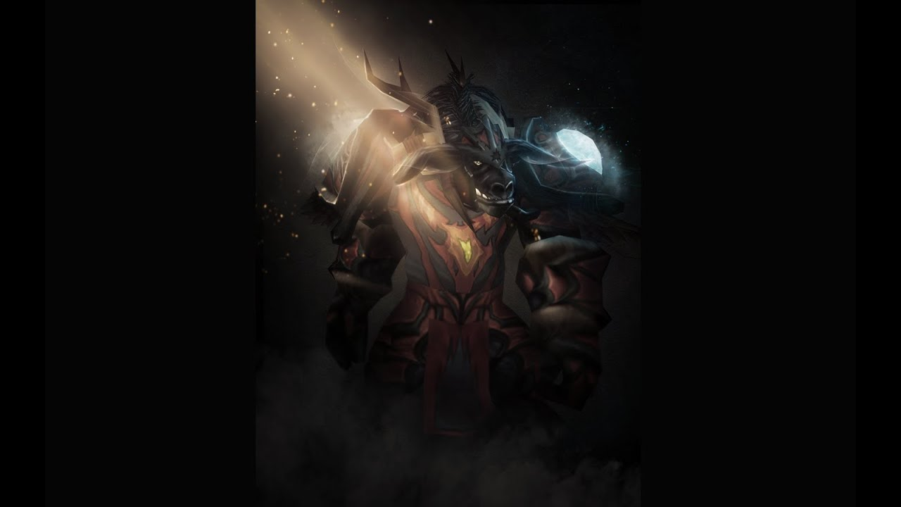 Wow Wallpaper Tauren Druid