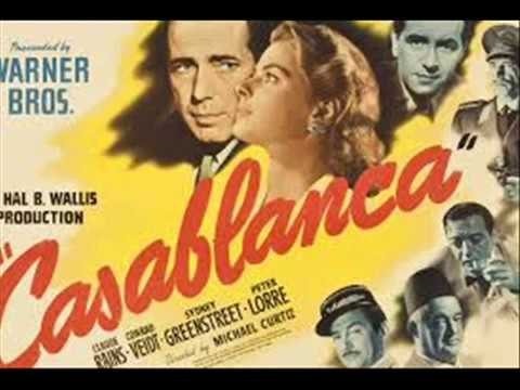 AS TIME GOES  CASABLANCA  RUDY VALEE  HERMAN HUPFIELD instrumental