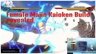 Dragon ball Xenoverse 2 - Female Majin Kaioken Time Skip Build revealed +More