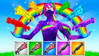 The *RAINBOW* TAC SHOTGUN Challenge in Fortnite!