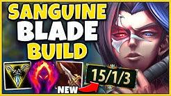 *NEW* SANGUINE BLADE MAKES KAYN A JUNGLE GOD - League of Legends