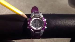 Setting Timex 1440 Sports Watch