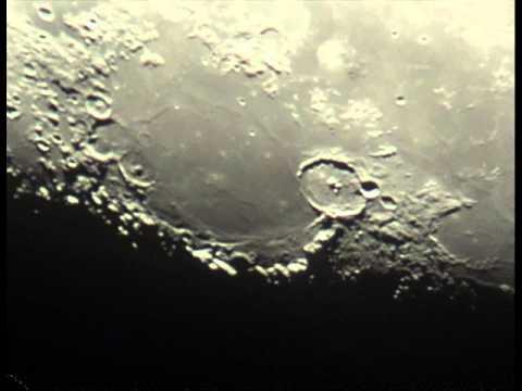 Księzyc widziany przez teleskop wmv youtube