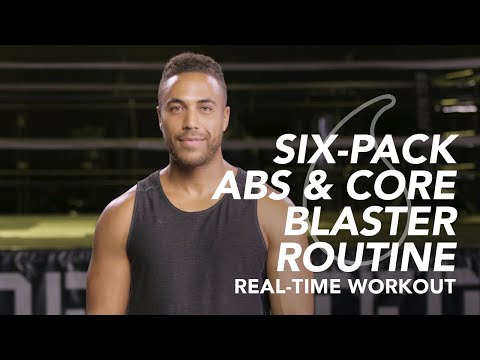Six-Pack Abs & Core Blaster Routine – Sweet Sweat Real-Time Workouts