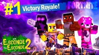 Minecraft: FORTNITE! (Esconde-Esconde 2)