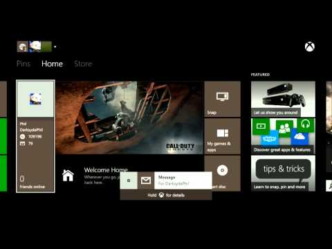 Xbox One Launch: First Booting, Initial Setup and Exploration