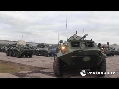 Տեսանյութ.Ինչպես է Արցախ  ուղևորվում ՌԴ խաղաղապահների հերթական զորակազմը