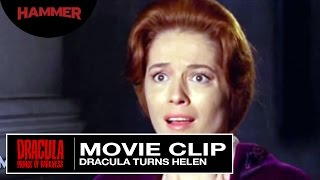 Dracula: Prince of Darkness / Dracula Turns Helen (Official Clip)