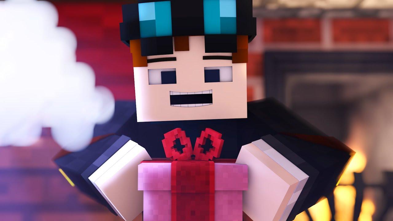 The Diamond Minecart | OPENING CHRISTMAS PRESENTS! - Minecraft ...