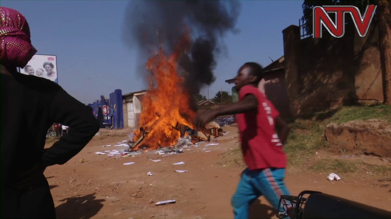Boda Boda 2010 offices looted and set on fire by rival Boda boda factions