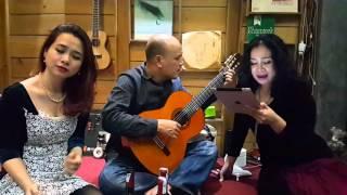 Bài không tên số 2 - Kim Tiến & guitar Fuong