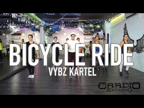 Bicycle Ride   Vybz Kartel by Cesar James Coreo Zumba Cardio Extremo Cancun