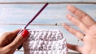 """Плотность вязания крючком или Почему полотно """"дырявое""""?"""