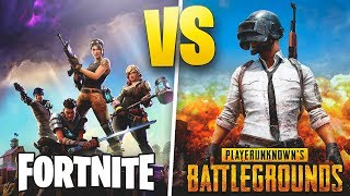 FORTNITE VS PUBG MOBILE - TheGrefg
