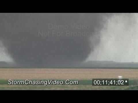 6/16/2014 Stanton, Pilger & Wakefield, NE Tornado - Stock Footage