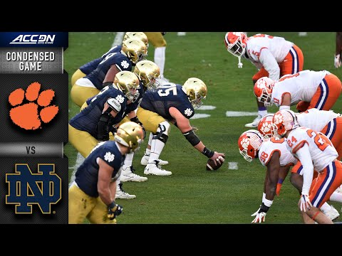 Clemson vs. Notre Dame Condensed Game   2020 ACC Football