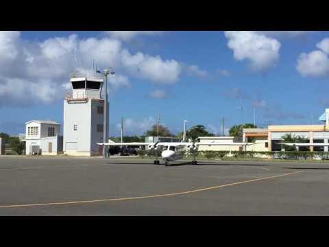 Trans Anguillan Airways Britten Norman BN-2 Islanders Clayton J. Lloyd Intl. Airport
