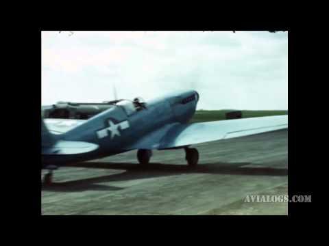 USAAF Spitfire MKXI, UK, Circa 1944