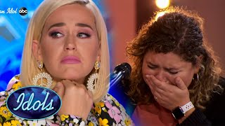 Original Song Makes Katy Perry CRY  | Idols Global