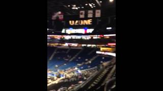Amway arena section 106 view