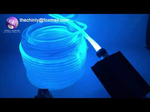14.0mm Side Glow PMMA Fiber Optic Cable for led pool lights