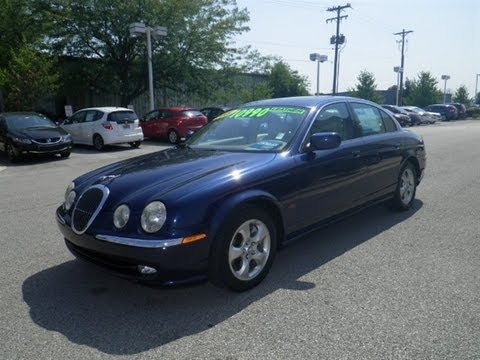 Marvelous 2001 Jaguar S Type 3.0 V6 Start Up, Exhaust, And In Depth Tour