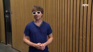 Alexander Rybak Doing Magic Tricks  (With english subtitles)