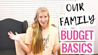 Our Family Budget Basics | 7 Basic Budgeting Tips for Beginners