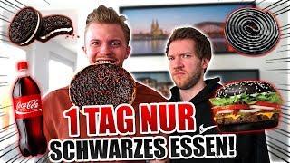 NUR SCHWARZES ESSEN FÜR 24H CHALLENGE !
