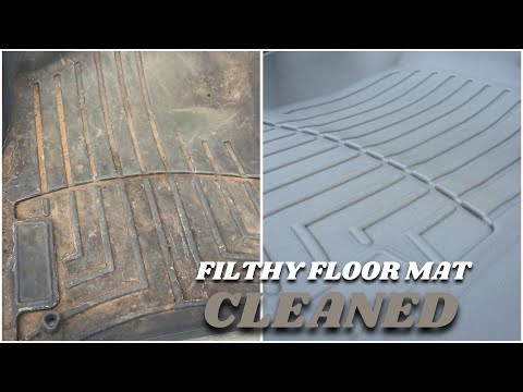 How To Clean Rubber Floor Mats - Like A Pro