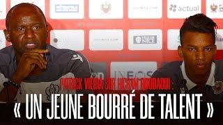 """Vieira sur Boudaoui : """"Un jeune bourré de talent"""""""