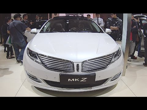 New sedan Lincoln MKZ 2016, 2017 interior, exterior video