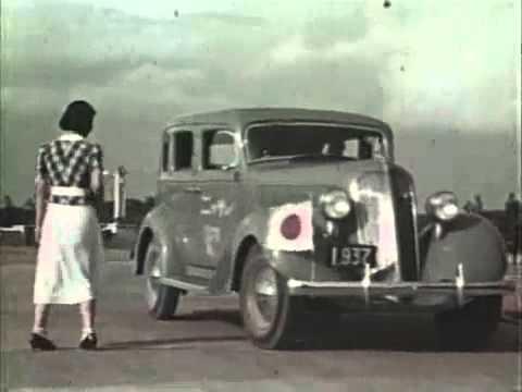 1930年代の日本 【カラー映像】 - YouTube