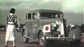 1930年代の日本 【カラー映像】