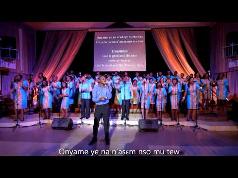 NYAME YE - LIC CHOIR - Official Video (The Live Version)