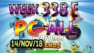 Angry Birds Friends Tournament All Levels Week 338-E PC Highscore POWER-UP walkthrough