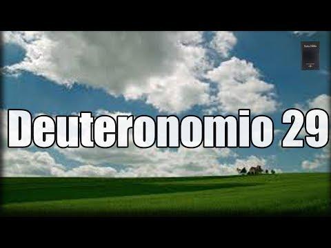 Deuteronomio Capítulo 29: