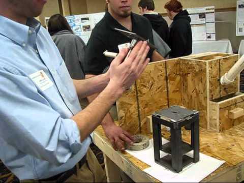 Michigan Tech Capstone Design: Human-Powered Grain Processor - YouTube