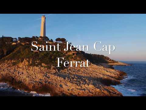 Saint Jean Cap Ferrat drone HD, French Riviera