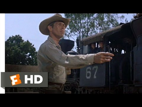 The Magnificent Seven (6/12) Movie CLIP - Fastest Knife in Town (1960) HD