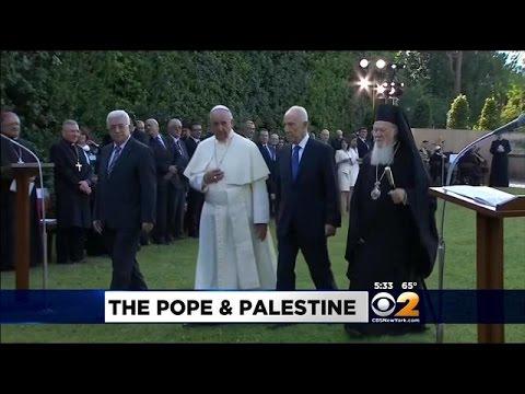 Vatican Recognizes State Of Palestine
